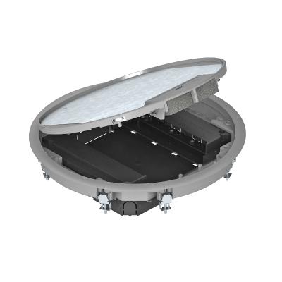 Круглый лючок для установки в стяжке высотой 55 мм — арт.: 7405047