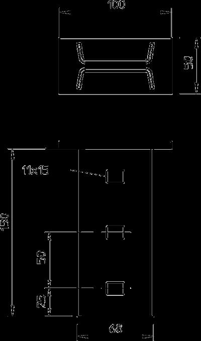 Схема Траверса приварная — арт.: 6347088