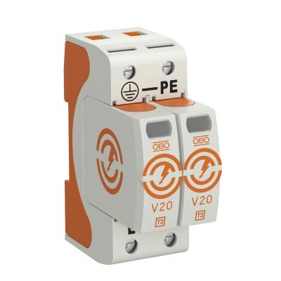 Разрядник для защиты от перенапряжений V20 2-полюсный, 75 В — арт.: 5095142