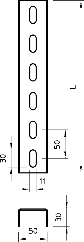 Схема Стойка US 3 — арт.: 6342450