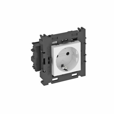 Розетка 0° Connect 80 с защитным контактом, одинарная — арт.: 6120412