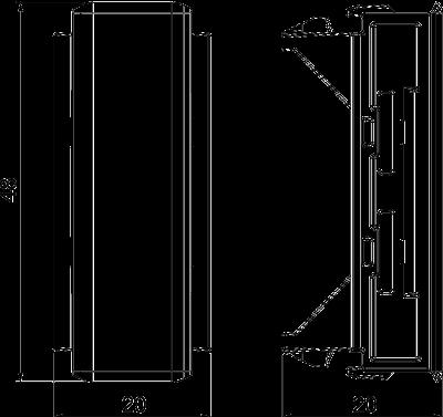 Схема Стыковая накладка для крышки — арт.: 6113034