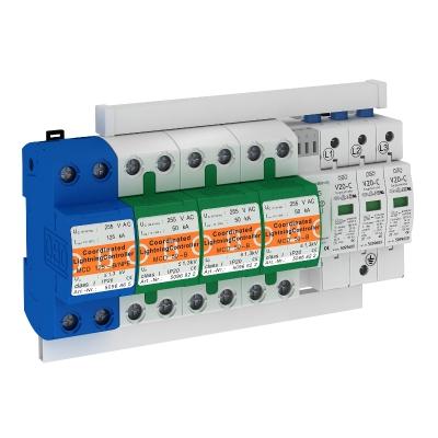 Комплект защиты MCD + V20 3-полюсный + NPE, с дистанционной сигнализацией — арт.: 5089763