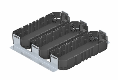 Монтажный комплект для электроустановочных изделий, для установки в монтажных основаниях UZD350-3 — арт.: 7407654