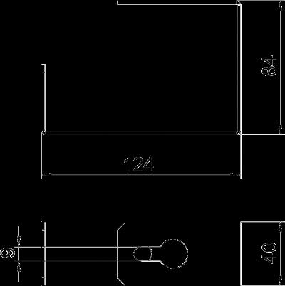 Схема Скоба для потолочного монтажа — арт.: 7216472