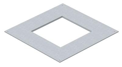 Крышка монтажного основания 350-3 с отверстием для лючка GES4 — арт.: 7400505