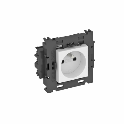 Розетка 0° Connect 80 с заземляющим стержнем, одинарная — арт.: 6120602