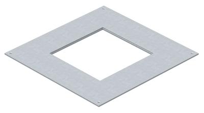 Крышка монтажного основания 250-3 с отверстием для лючка GES4 — арт.: 7400459