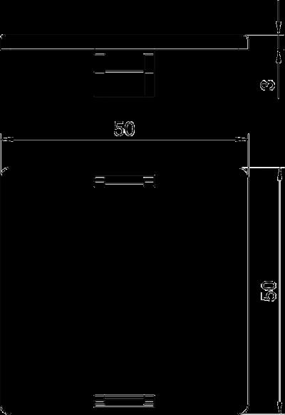 Схема Заглушка для круглого монтажного отверстия — арт.: 7407580