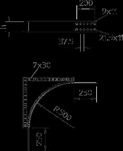 Схема Элемент угловой секции — арт.: 6098860