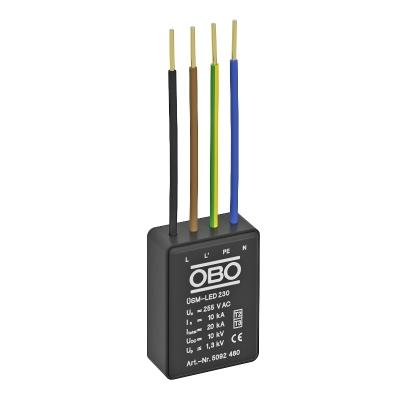 Модуль защиты от перенапряжений для систем освещения для сетей 230 В/400 В, тип 2+3 — арт.: 5092480