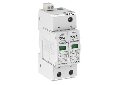 Разрядник для защиты от перенапряжений 2-полюсный, с дистанционной сигнализацией — арт.: 5094632