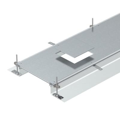 Секция кабельного канала с крышкой для лючка GES4, высота 40 — 140 мм — арт.: 7424120