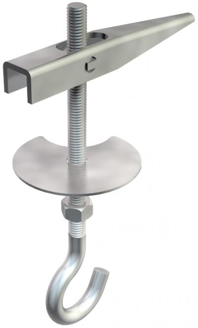 Пружинно-откидной дюбель с потолочным крючком — арт.: 3482138