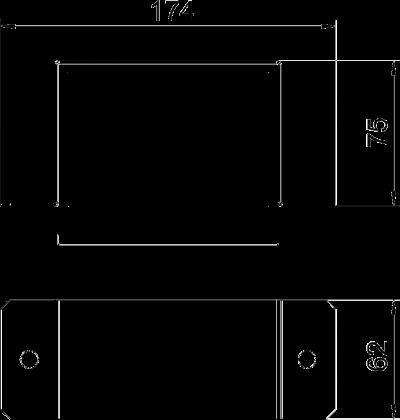 Схема Соединитель для огнестойкого металлического кабельного канала — арт.: 7216310