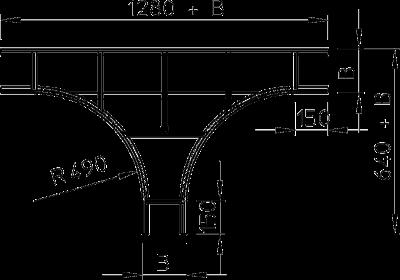 Схема Т-образная секция — арт.: 6205534
