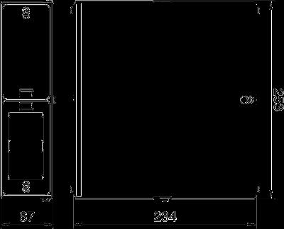 Схема Универсальный блок подключения CP, пустой — арт.: 6108037