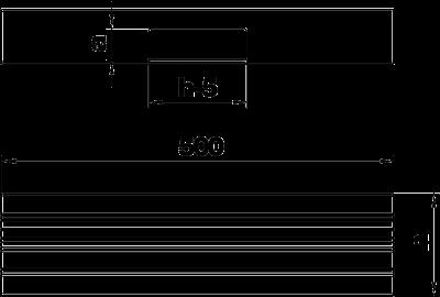 Схема Т-образная секция для кабельного короба высотой 70 мм — арт.: 6279363