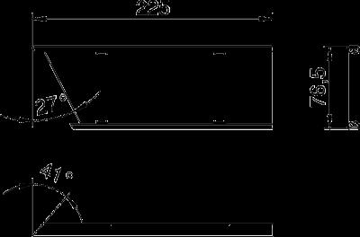 Схема Стальная крышка внутреннего угла — арт.: 6287080