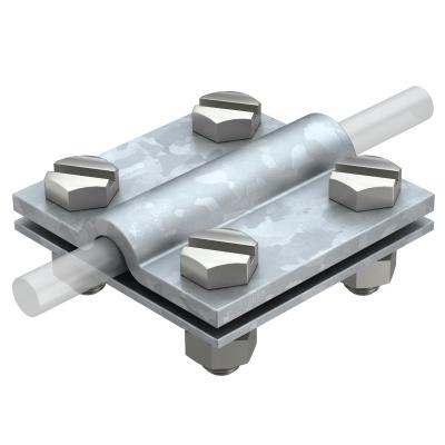 Крестовой соединитель для плоских и круглых проводников — арт.: 5312655