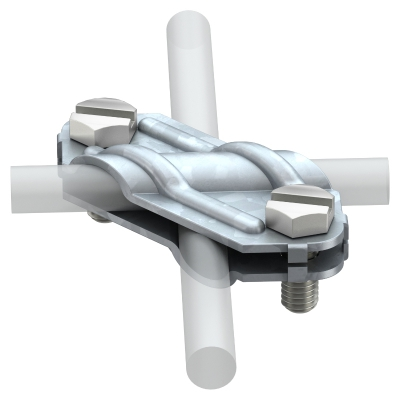 Крестовой соединитель для плоских и круглых проводников — арт.: 5312906