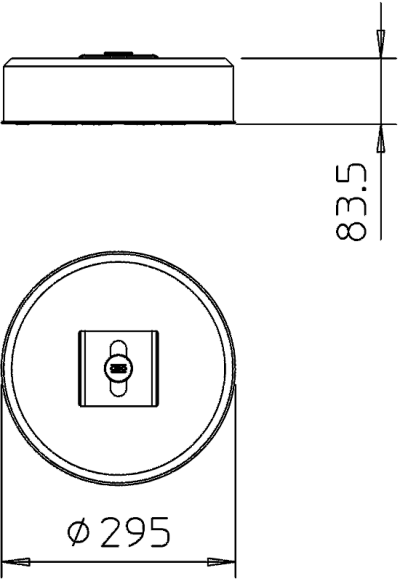 Схема Бетонное основание с креплением TrayFix, 10 кг — арт.: 5403101