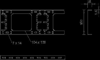 Схема Модульный профиль BKK стандартный — арт.: 6070345