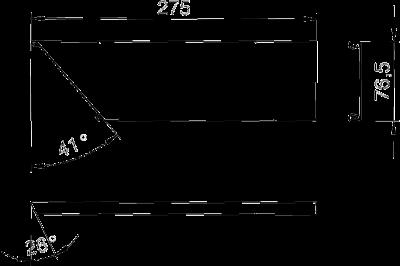 Схема Стальная крышка плоского угла восходящего — арт.: 6287060