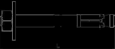 Схема Анкерный болт BZ-U — арт.: 3498320
