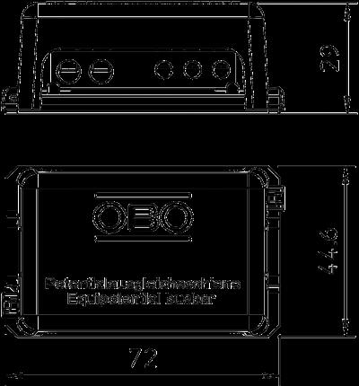 Схема Шина уравнивания потенциалов для малых установок — арт.: 5015502