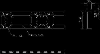 Схема Модульный профиль BKK стандартный — арт.: 6070248