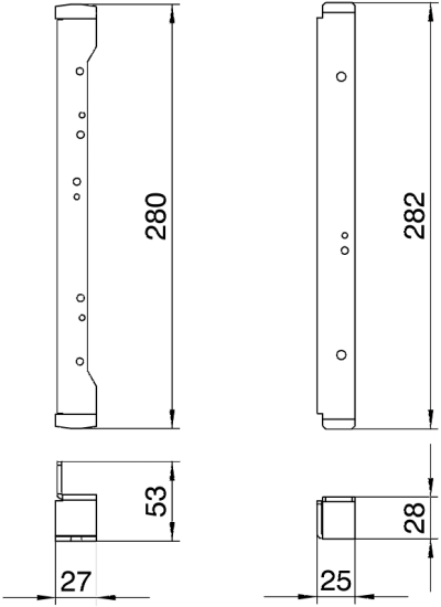 Схема Нивелирующий угол для установки круглых кассетных рамок в монтажных основаниях UGD250-3 — арт.: 7410552