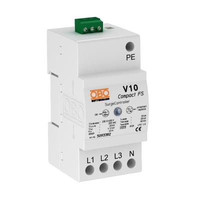 Разрядник для защиты от перенапряжений V10 Compact, с дистанционной сигнализацией — арт.: 5093382