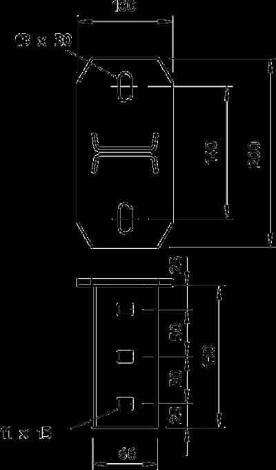 Схема Траверса поперечная — арт.: 6347061