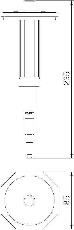 Схема Маркировочная насадка для забивного анкера — арт.: 3492970
