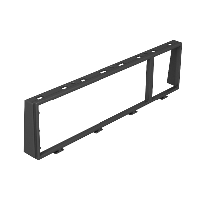 Монтажная рамка для устройств Modul 45 в комбинации тройное + одинарное — арт.: 7408680