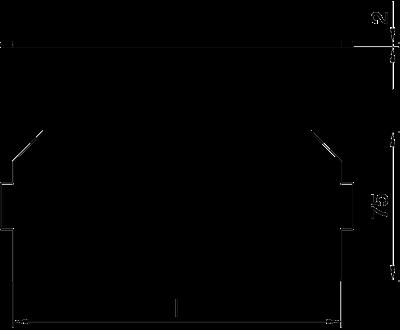 Схема Заглушка для лючков и кассетных рамок — арт.: 7407588