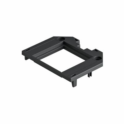 Накладка для универсальной монтажной коробки UT3, с отверстием для одинарной розетки Modul 45® — арт.: 7408771