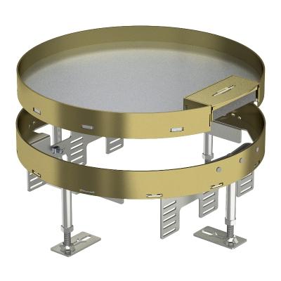 Регулируемая кассетная рамка RKSR с кабельным выводом, из латуни — арт.: 7409272