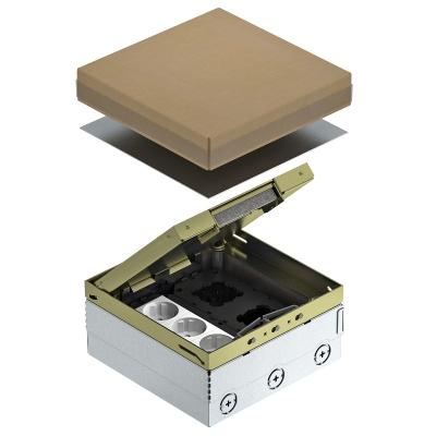 Лючок UDHome4 с монтажной коробкой GB2, укомплектованный, из латуни — арт.: 7427204