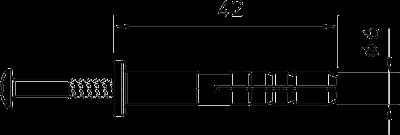 Схема Дюбель для зажима Quick — арт.: 2351218