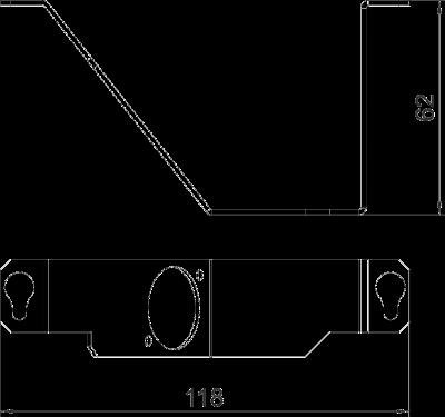 Схема Суппорт для 1го телекоммуникационного модуля типа К — арт.: 7407599