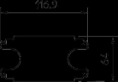 Схема Промежуточный стабилизатор для электромонтажной колонны ISST70140 — арт.: 6290160