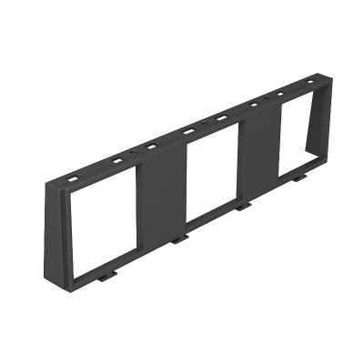 Монтажная рамка для 3х одинарных устройств Modul 45 — арт.: 7408672