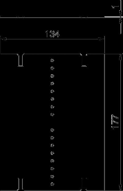 Схема Разделительная перегородка для блоков питания VHF без соединения для пневматического рукава — арт.: 6109860