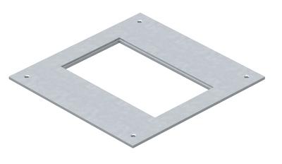 Крышка монтажного основания 250-3 с отверстием для лючка GES2 — арт.: 7400455