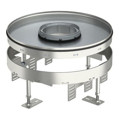 Регулируемая усиленная кассетная рамка RKRSL, ревизионный люк, номинального размера R9, из нержавеющей стали — арт.: 7409470