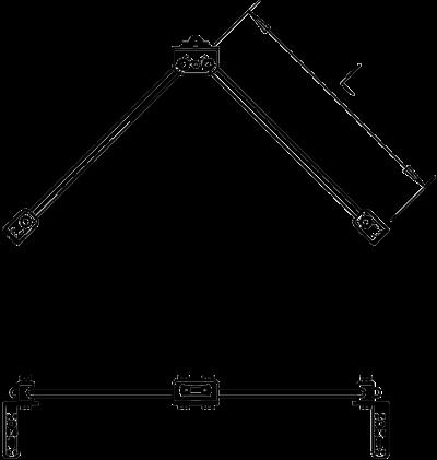 Схема Комплект для изолированного V-образного крепления — арт.: 5408978