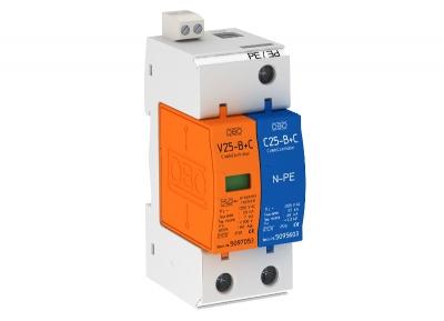 Комбинированный разрядник 1-полюсный + NPE, с дистанционной сигнализацией — арт.: 5094444