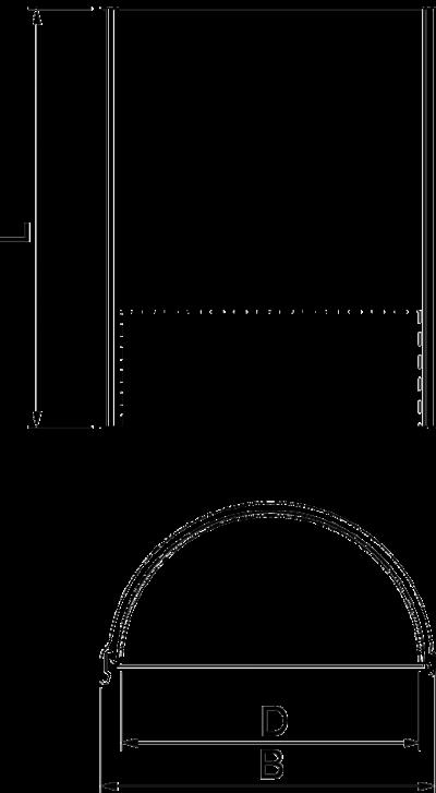 Схема Огнестойкая полу-манжета для трубы PYROCOMB® Intube — арт.: 7204306